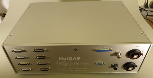 NetDAS Linux/Windows 24-bit Data Recorder