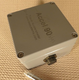 Accel90 Triaxial High Resoluion Accelerometer